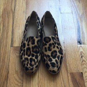 Madewell Frances Loafer in Leopard 7.5